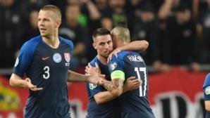 Словакия отново победи Унгария (видео)