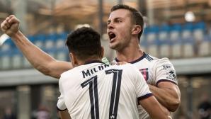 Миланов влезе от пейката при шестата поредна победа на МОЛ Фехервар
