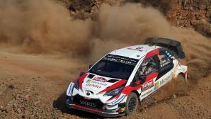Лидерът във WRC отпадна от рали Турция