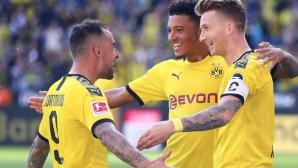 Борусия (Дортмунд) показа голова мощ преди двубоя с Барселона (видео)