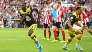 Страхотен гол на Дженепо донесе победа над Саутхамптън над Шефилд Юнайтед