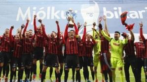 Викингур (Рейкявик) спечели Купата на Исландия за втори път в историята