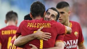 Рома напомни за себе си с четири гола и четири греди