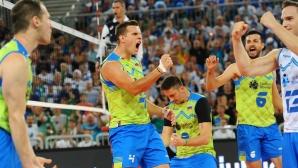Словения с измъчена победа над Финландия (снимки)