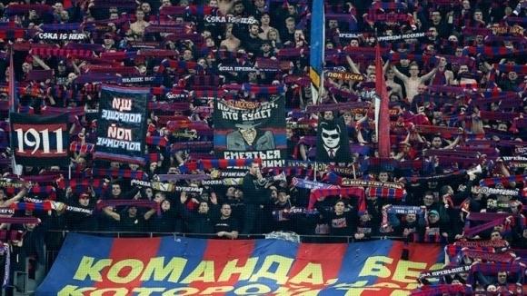Около 700 привърженици на ЦСКА (Москва) пристигат в Разград