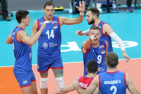 Сърбия не остави шансове на Белгия на Евроволей 2019 (снимки)