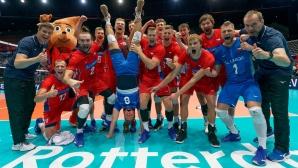 Чехия с първа победа на Евроволей 2019 (снимки)