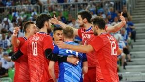 Русия с 4 от 4 на Евроволей 2019, Самелвуо за първи път срещу родината си (снимки)