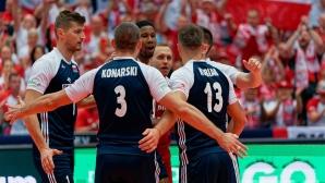 Полша без проблеми срещу Чехия за 3-а победа на Евроволей 2019 (снимки)