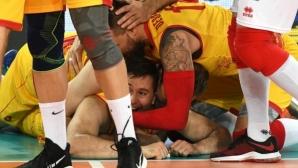 Северна Македония записа първа победа на Евроволей 2019 (снимки)