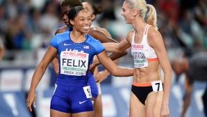 Алисън Филикс за рекорден девети път на световно първенство
