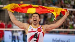 Северна Македония изненада Словения в Любляна! Има голям шанс за 1/8-финал на Евроволей 2019 (снимки)