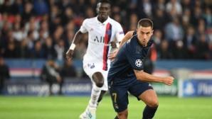 Еден Азар отнесе доста критики за дебюта си в Шампионска лига с екипа на Реал