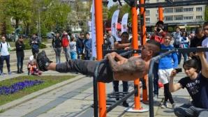 Атлети от 7 държави ще се борят за Световната купа по стрийт фитнес