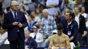 Джокович с нетрадиционен метод за възстановяване в US Open