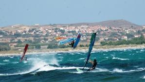 Остров Лимнос - световната сърф дестинация, създадена от българи