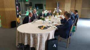 Лудогорец даде традиционния обяд за гостите от ЦСКА (Москва)