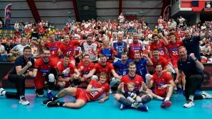 Чехия взе нужното от Черна гора и е на 1/8-финал Европейското (снимки)