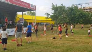 Благотворителна спортна инициатива събра средства за залесяване на столичен квартал