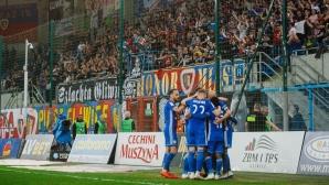 Полският шампион обърна тима на Алекс Колев