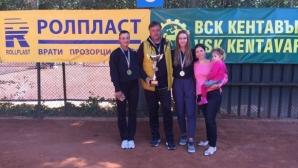 Левски спечели за трета поредна година титлата на Държавното по тенис