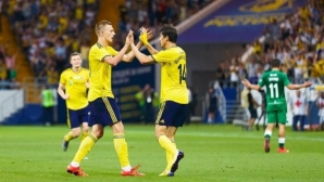Ивелин Попов игра цял мач при провал на Ростов