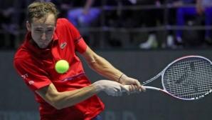 Даниил Медведев спечели титлата в Санкт Петербург