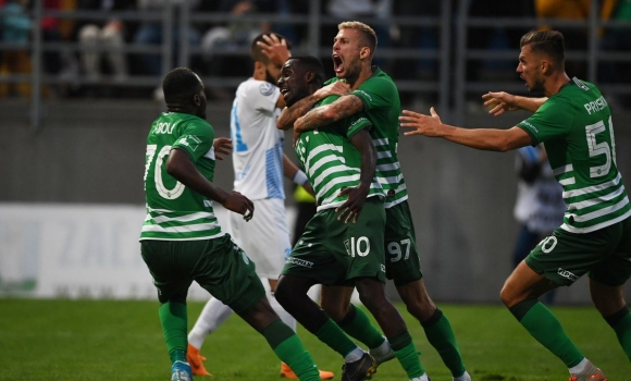 Ференцварош с измъчена победа в унгарското първенство