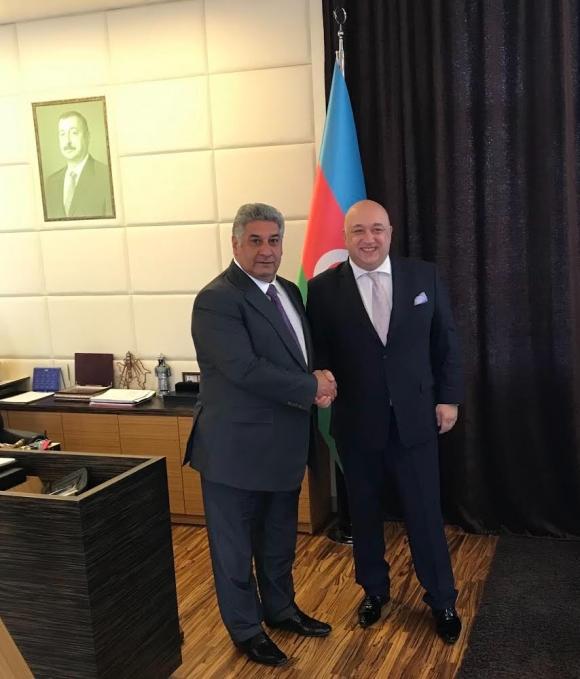 Красен Кралев и Азад Рахимов обсъдиха възможности за съвместно сътрудничество между България и Азербайджан