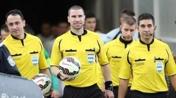 Обявиха съдийските назначения за 1/16-финали от Купа на България
