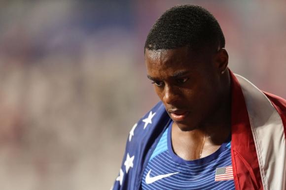 Коулман се отказа от старта на 200 метра