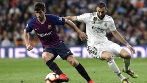 Барса - Реал Мадрид ще се играе от 14:00 часа