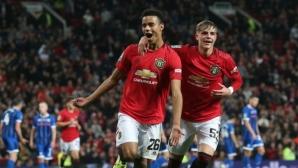След поредното ходене по мъките дузпи пратиха Ман Юнайтед в следващия кръг на Купата на лигата (видео)