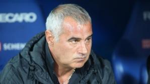 Сашо Ангелов недоволен от съдийството в мача с Левски