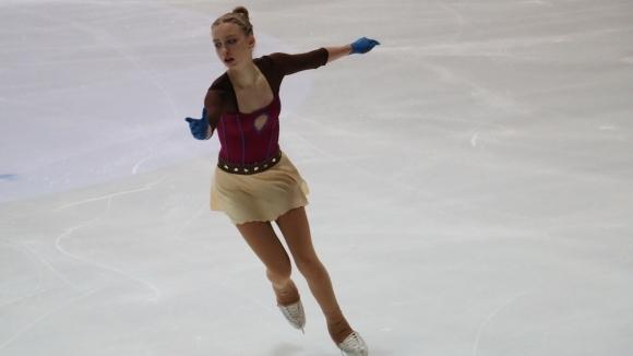 Александра Фейгин на стотни от престижен медал