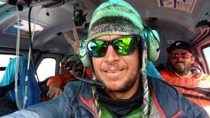Спускането на Владимир Павлов със сноуборд от 8100 метра без кислород (видео)