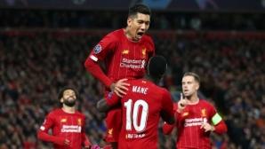 Ливърпул изпусна преднина от три гола, но все пак триумфира във френетичен мач със Залцбург (видео)