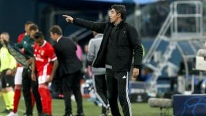 В Португалия играем по един начин, а в Шампионската лига - по друг, призна треньорът на Бенфика