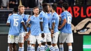 Радост за Лацио след обрат срещу Рен (видео)