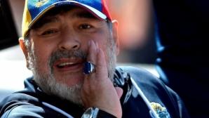 Дон Диего записа първа победа и я отпразнува в свой стил (видео)