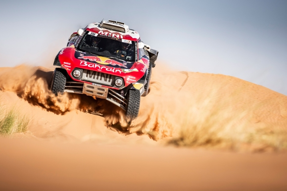Сайнц спечели етап 3 на рали Мароко, Ал-Атия остава лидер