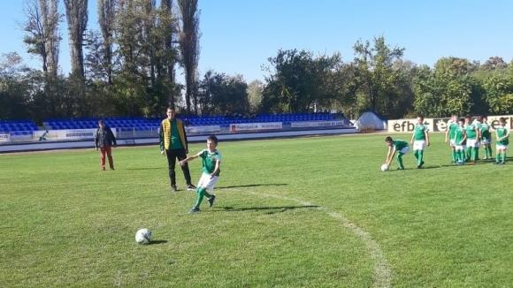 Учениците от Радомир се включиха в Европейска седмица на спорта #BeActive