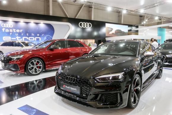Audi представя изцяло електрическия Audi e-tron и мощните SQ7 и SQ8 на Sofia Motor Show