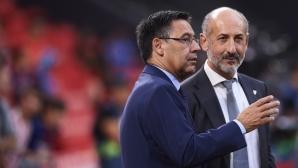 """От """"Камп Ноу"""" раздали 92 млн. евро бонуси за титлата и Суперкупата на Испания"""
