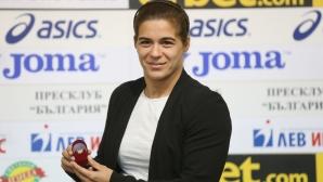 Тайбе Юсеин беше наградена за Спортист №1 на месец септември