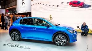 Peugeot показва електрически автомобил, скутер и велосипед на Sofia Motor Show