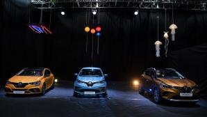 Renault представи новите Clio, Zoe, Captur и Megane R.S. Trophy