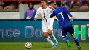 Митрович не спира да бележи за Сърбия