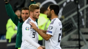 Вернер и Гюндоган са готови да играят срещу Естония