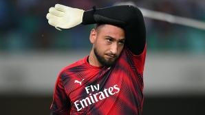 Милан удари на камък в преговорите за нов договор на Донарума